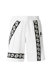 Pantalones cortos estampados en blanco y negro de Damir Doma