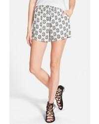 Pantalones cortos estampados en blanco y negro de Splendid