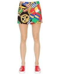 Pantalones cortos estampados en multicolor de Love Moschino