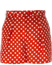 Pantalones cortos estampados rojos de Carven