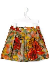 Pantalones cortos estampados rojos de Morley