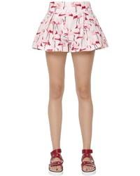 Pantalones cortos estampados rosados de RED Valentino