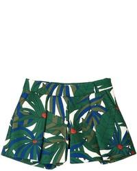 Pantalones cortos estampados verdes de Little Marc Jacobs