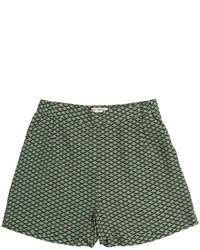 Pantalones cortos estampados verdes de Nice Things