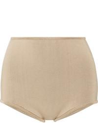 Pantalones cortos marrón claro de Balmain