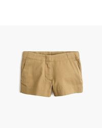 Pantalones cortos marrón claro de J.Crew