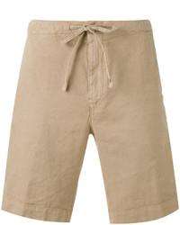 Pantalones cortos marrón claro de Loro Piana