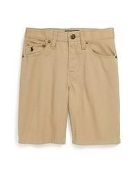 Pantalones cortos marrón claro de Ralph Lauren