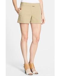 Pantalones cortos marrón claro de Theory