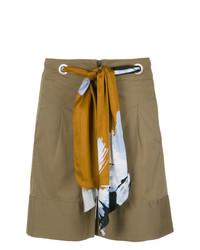 Pantalones Cortos Marrónes de Alcaçuz