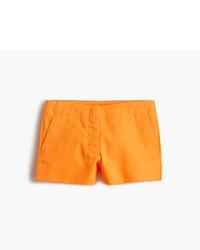 Pantalones cortos naranjas de J.Crew