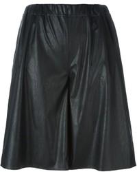 Pantalones Cortos Negros de MM6 MAISON MARGIELA