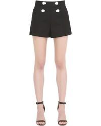 Pantalones Cortos Negros de Moschino