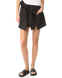 Pantalones cortos negros de MSGM