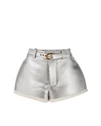 Pantalones cortos plateados de Marni