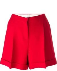 Pantalones cortos rojos de Valentino
