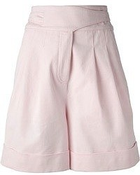 Pantalones cortos rosados de Givenchy