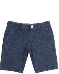 Pantalones cortos vaqueros azul marino de Paul Smith