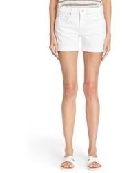 Pantalones cortos vaqueros blancos de Vince