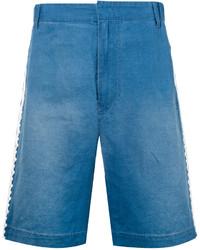 Pantalones cortos vaqueros bordados azules de Stella McCartney