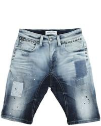 Pantalones cortos vaqueros celestes de John Galliano