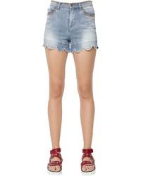 Pantalones cortos vaqueros celestes de RED Valentino