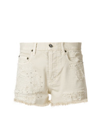 Pantalones cortos vaqueros en beige de Faith Connexion