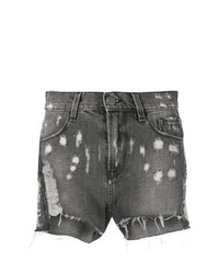 Pantalones cortos vaqueros en gris oscuro de Circus Hotel