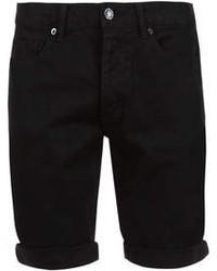 Pantalones cortos vaqueros negros