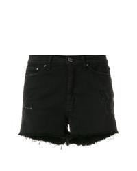 Pantalones Cortos Vaqueros Negros de Dondup