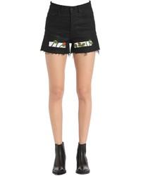 Pantalones cortos vaqueros negros de Off-White