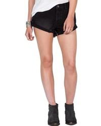 Pantalones Cortos Vaqueros Negros de Volcom
