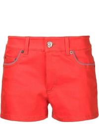 Pantalones cortos vaqueros rojos de Sonia Rykiel