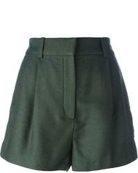 Pantalones cortos verde oscuro de Versace