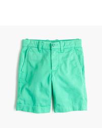 Pantalones cortos verdes de J.Crew