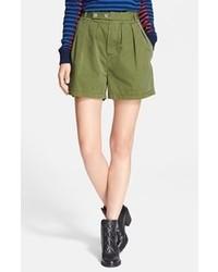 Pantalones cortos verdes de Marc by Marc Jacobs