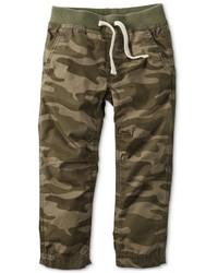 Pantalones de camuflaje verde oliva
