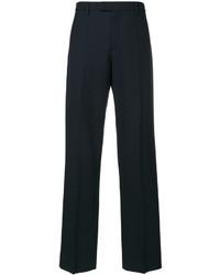 Pantalones de lana azul marino de Maison Margiela