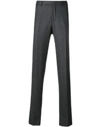 Pantalones de lana en gris oscuro de Ermenegildo Zegna