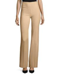 Pantalones de lana marrón claro de Theory