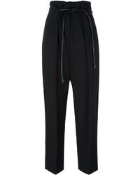 Pantalones de lana negros de 3.1 Phillip Lim