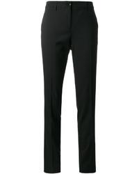 Pantalones de lana negros de Etro