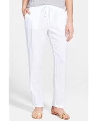 Pantalones de Pijama Blancos de James Perse