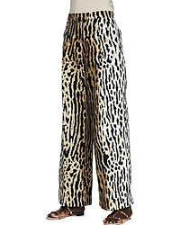 Pantalones de Pijama de Leopardo Marrónes de Valentino