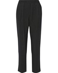 Pantalones de pijama negros de 3.1 Phillip Lim