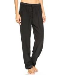 Pantalones de pijama negros
