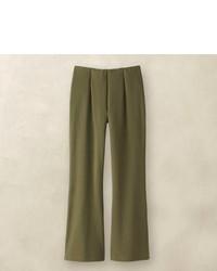 Pantalones de pijama verde oliva