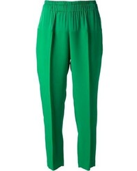Pantalones de Pijama Verdes de Lanvin