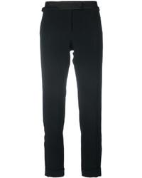Pantalones de Seda Negros de Tom Ford