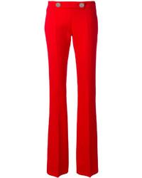 Pantalones de seda rojos de Giambattista Valli
